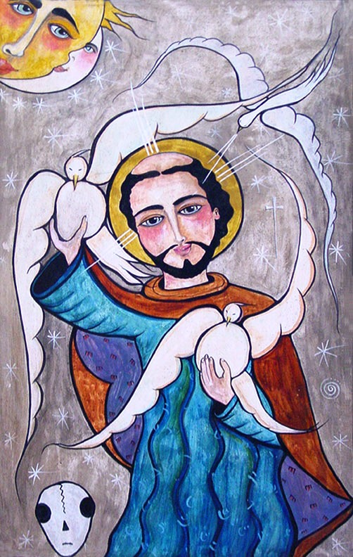 Saint Francis of Assis                     by Virginia Maria Romero