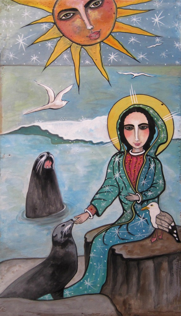 Seals Speak                   to Mary by Virginia Maria Romero